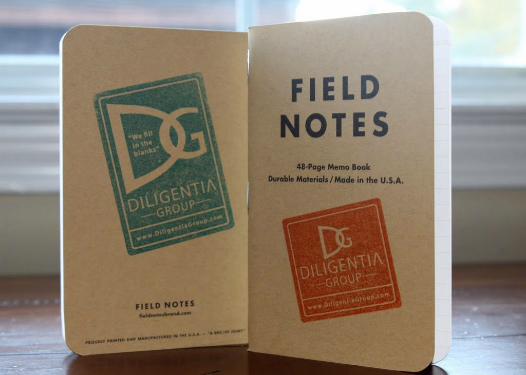 Field Notes + Diligentia Group = Awesome