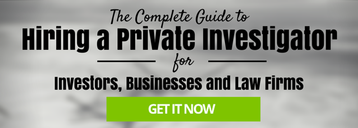 Guide to Hiring a Private Investigator