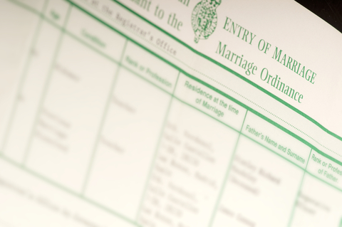 Marriage Record Public Record New York